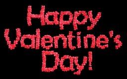 Glückliche Valentinstagballone Lizenzfreies Stockfoto