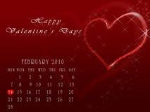 Glückliche Valentinstage Stockbild