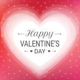 Glückliche Valentinstaggrußkarte Stockfotos