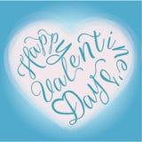 Glückliche Valentinstaggrußkarte Lizenzfreies Stockfoto