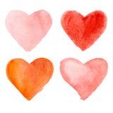 Glückliche Valentinstagvektorkarte Stockfotos