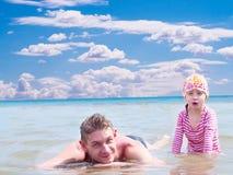 Glückliche Vaterschaft Lizenzfreie Stockfotos