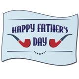 Glückliche Vatertagskarte Stockbilder