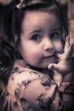 Glückliche Zeit des Babys Stockfoto