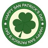 Glücklichen Tag Sans Patrick stockfotografie
