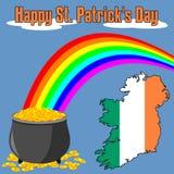 Glücklichen Tag Str.-Patricks [3] Stockfotografie