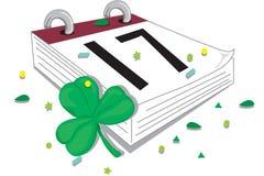 Glücklichen Tag Str.-Patricks stock abbildung