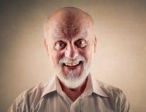 Glücklicher Älterer Lizenzfreie Stockfotografie