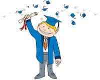 Glücklicher Absolvent Lizenzfreie Stockfotos