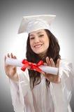 Glücklicher Absolvent lizenzfreies stockbild