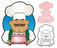 Glücklicher Bäcker Lizenzfreie Stockbilder