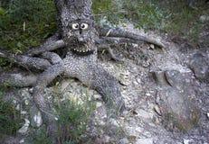 Glücklicher Baum Lizenzfreies Stockbild