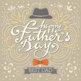 Glücklicher bester Vati des Vatertags