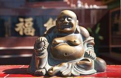Glücklicher Buddha Stockbild