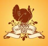 Glücklicher Danksagungs-Tag. Lizenzfreies Stockbild