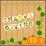 Glücklicher Danksagungs-Tag Lizenzfreies Stockbild
