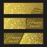 Glücklicher diwali Hintergrund Stockfotos