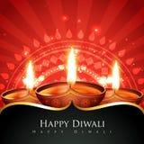 Glücklicher diwali Hintergrund stock abbildung