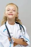 Glücklicher Doktor lizenzfreies stockbild