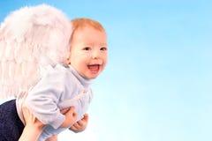 Glücklicher Engel Lizenzfreie Stockfotografie