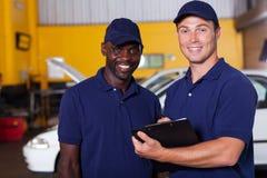 Fahrzeugmanagerarbeitskraft Lizenzfreie Stockfotos