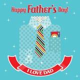 Glücklicher Fatherâs Tag Lizenzfreie Stockfotografie