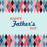 Glücklicher Fatherâs Tag Lizenzfreies Stockbild