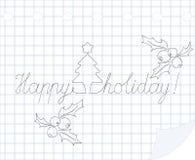 Glücklicher Feiertag Lizenzfreie Stockbilder