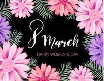 Glücklicher Frauen ` s Tag lizenzfreie abbildung