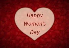Glücklicher Frauentag Stockfotos