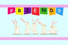 Glücklicher Freundschafts-Tag Lizenzfreies Stockfoto