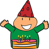 Glücklicher Geburts-Tag Lizenzfreie Abbildung