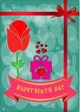 Glücklicher Geburts-Tag Stockbilder