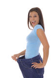 Glücklicher Gewichtverlust Lizenzfreies Stockbild