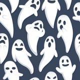 Glücklicher Halloween-Geist-Hintergrund Lizenzfreies Stockfoto