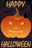 Glücklicher Halloween-Hintergrund stock abbildung