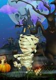 Glücklicher Halloween-Hintergrund Stockfotografie