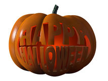 Glücklicher Halloween-Kürbis Stockfotografie