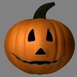 Glücklicher Halloween-Kürbis Stockbild
