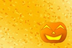 Glücklicher Halloween-Kürbis-Hintergrund Lizenzfreie Stockbilder