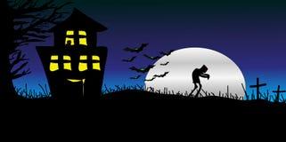 Glücklicher Halloween-Tag lizenzfreies stockfoto