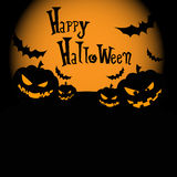 Glücklicher Halloween-Tag Stockfoto