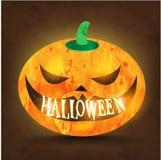Glücklicher Halloween-Vektor-Entwurf Stockbild
