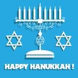 Glücklicher Hanukkah Stockfotografie