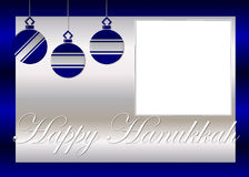 Glücklicher Hanukkah-Foto-Hintergrund Lizenzfreies Stockfoto