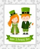 Glücklicher Heiliger Patrick-Tag lizenzfreie abbildung