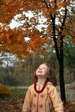 Glücklicher Herbst Lizenzfreies Stockbild