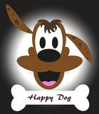 Glücklicher Hund Lizenzfreie Stockfotos