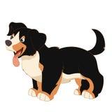 Glücklicher Hund der Karikatur Lizenzfreie Stockbilder