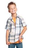 Glücklicher Junge Stockfoto